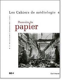 Les cahiers de médiologie 1997/2