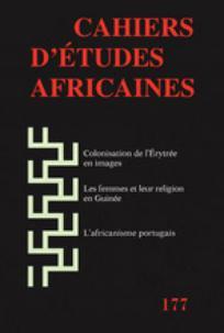 Cahiers d'études africaines 2005/1