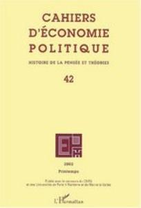 Cahiers d'économie Politique / Papers in Political Economy 2002/1