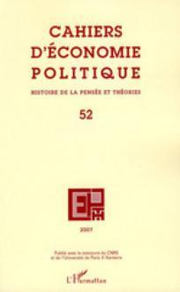 Cahiers d'économie Politique / Papers in Political Economy 2007/1