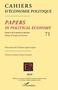 Cahiers d'économie Politique / Papers in Political Economy
