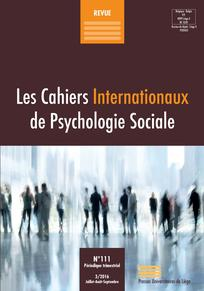 Les Cahiers Internationaux de Psychologie Sociale