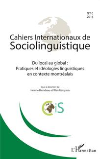 Cahiers internationaux de sociolinguistique