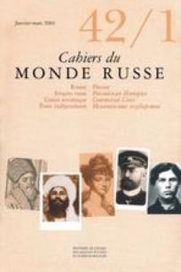 Cahiers du monde russe 2001/1