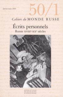 Cahiers du monde russe 2009/1