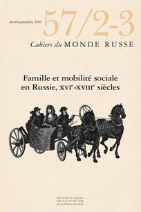 Cahiers du monde russe