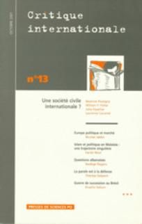 Critique internationale 2001/4