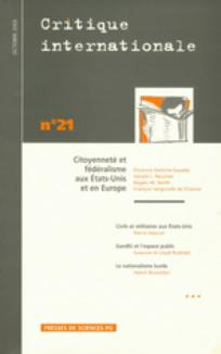 Critique internationale 2003/4