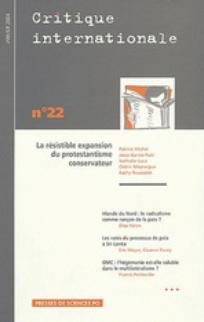 Critique internationale 2004/1