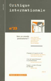 Critique internationale 2004/2