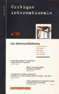 Critique internationale 2005/2