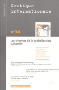 Critique internationale 2008/1
