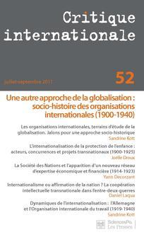 Critique internationale 2011/3