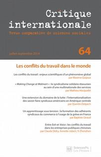Critique internationale 2014/3