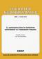 couverture de La participation dans les institutions universitaires en Communauté française