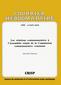 couverture de Les relations communautaires à l'Assemblée réunie de la Commission communautaire commune