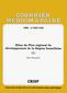 couverture de Bilan du Plan régional de développement de la Région bruxelloise (I)