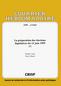 couverture de La préparation des élections législatives du 13 juin 1999 (I)