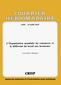 couverture de L'Organisation mondiale du commerce et le différend du bœuf aux hormones