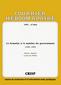 couverture de La formation et le maintien des gouvernements (1946-1999)