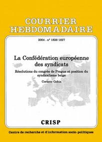 Courrier hebdomadaire du CRISP 2004/1