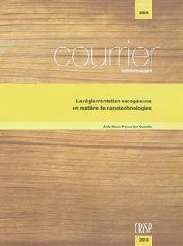 Courrier hebdomadaire du CRISP 2010/20
