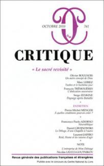 Critique 2010/10