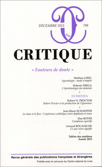 Critique 2013/12