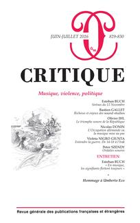 Critique 829-830