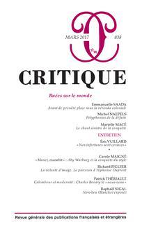 couverture de CRITI_838