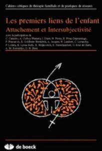 Cahiers critiques de thérapie familiale et de pratiques de réseaux 2005/2