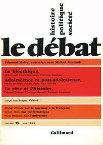 Le Débat 1983/3
