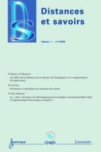 Distances et savoirs 2003/3