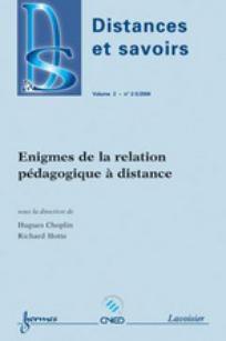 Distances et savoirs 2004/2