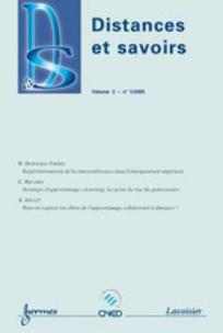 Distances et savoirs 2005/1