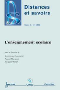 Distances et savoirs 2005/3