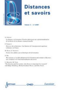 Distances et savoirs 2007/3