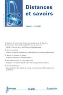 Distances et savoirs 2007/4