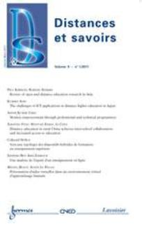 Distances et savoirs 2011/3