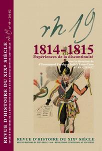 Revue d'histoire du XIX<sup>e</sup> siècle