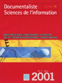 Documentaliste-Sciences de l'Information 2001/1
