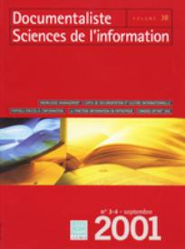 Documentaliste-Sciences de l'Information 2001/3
