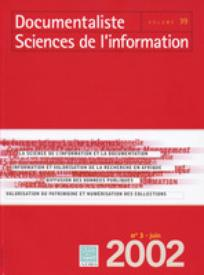 Documentaliste-Sciences de l'Information 2002/3