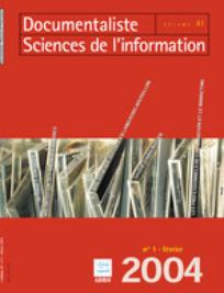 Documentaliste-Sciences de l'Information 2004/1