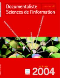 Documentaliste-Sciences de l'Information 2004/3