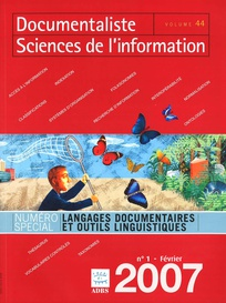 Documentaliste-Sciences de l'Information 2007/1