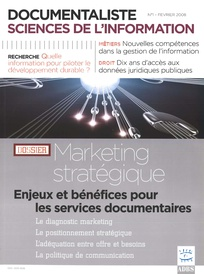 Documentaliste-Sciences de l'Information 2008/1