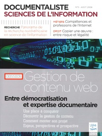 Documentaliste-Sciences de l'Information 2008/3