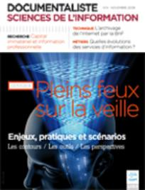 Documentaliste-Sciences de l'Information 2008/4