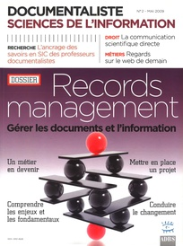 Documentaliste-Sciences de l'Information 2009/2